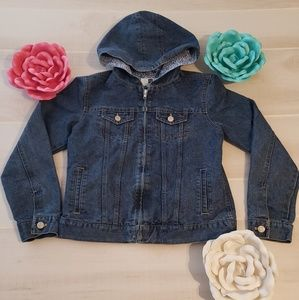 Gap Kids Jean Jacket with Hood